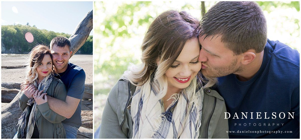 Danielson Photography, Palisades Engagement Session, Palisades Park, Wedding photos, engagement photos