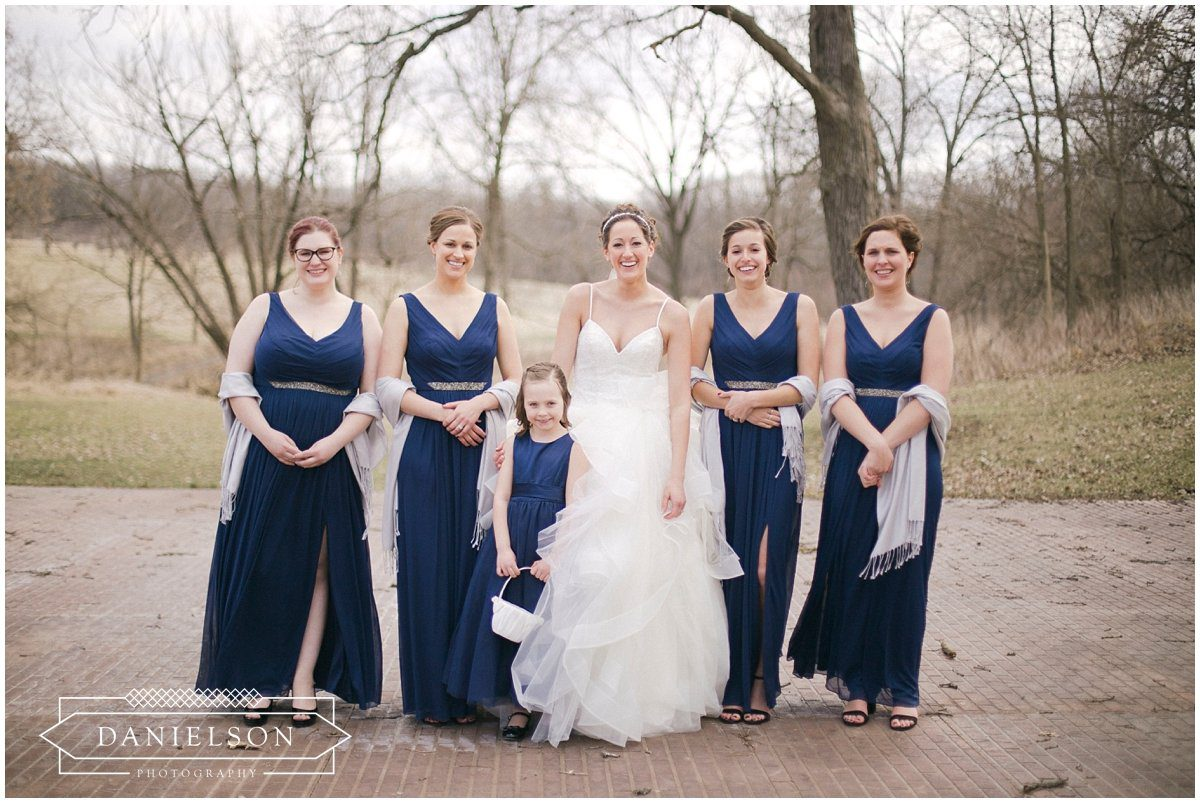 Rapid Creek Cidery weddings, Iowa CIty wedding photographer, Cedar Rapids wedding photographer, Rapid Creek Cidery, wedding ceremony, wedding party, bridesmaids