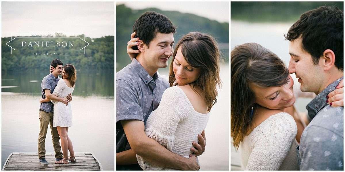 lake macbride engagement session, lakeside engagement pictures, iowa wedding photographer, iowa city wedding photographer
