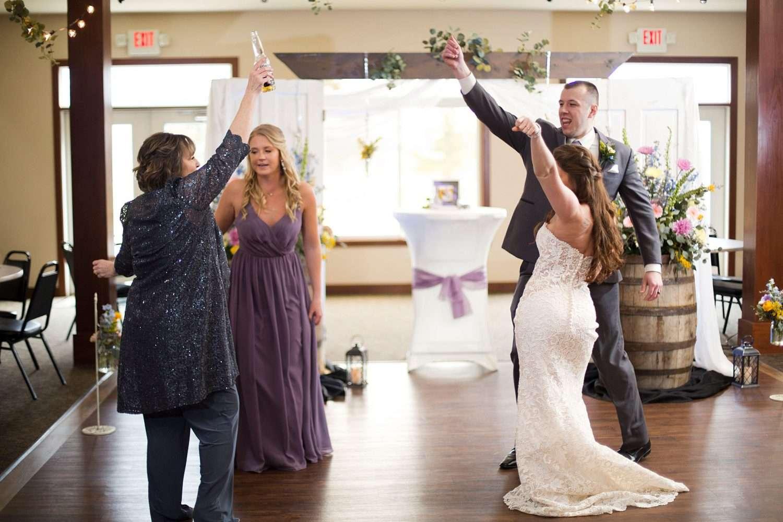 wedding dance candid